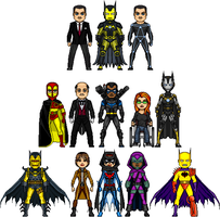 New Amalgam Comics: Allies of Iron Bat by Red-Rum-18