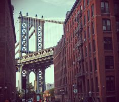 Manhattan Bridge by Bakus-design