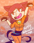 Happy Halloween ~Nya by Bratcole
