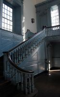 Stairway, Independence Hall by marisamudd