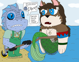 the things i Sea and cach (gift to Wolfy) by MagicArt1