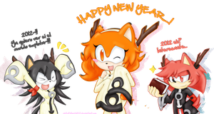 HAPPY NEW YEAR :3 by chikafullmetalX2