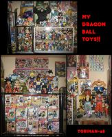 MY DRAGON BALL TOYS COLLECTION by toriman-28