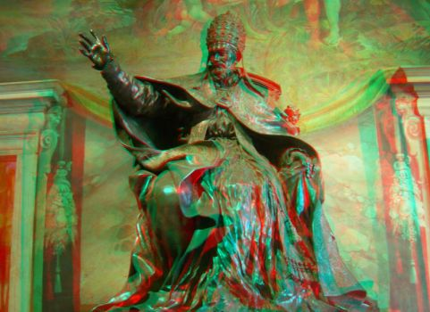 Rome 22 3D Anaglyph by yellowishhaze