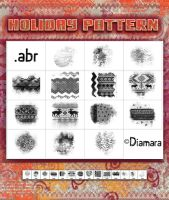 Holiday Pattern by Diamara