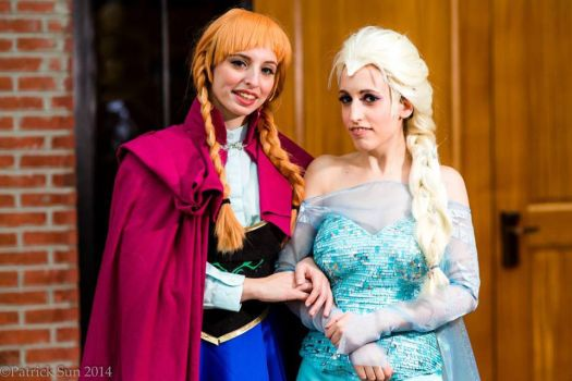 Frozen Hearts by Twin-Cosplay