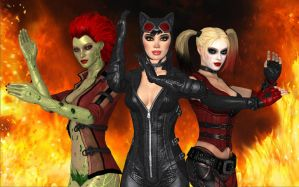 GOTHAM ANGELS by cablex452