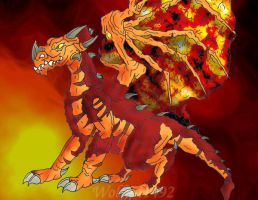 Magma- Contest Entry by wolfgrl1492