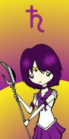 Sailor Saturn Bookmark by CynicalSniper
