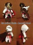 Assassin's Creed - Ezio Plushie by Chibidoodles