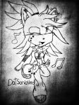 chibi Gitz The Hedgehog by DatSonicNerd