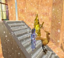 Chocobo on Temple - SL by Renmiri