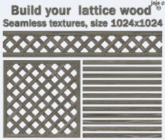 Build your  lattice wood by jojo-ojoj