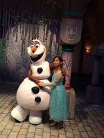 Olaf and I hug each other with winter love photo 1 by Magic-Kristina-KW