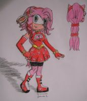Amy Rose: older, 18 yrs by ripjaws-girl21