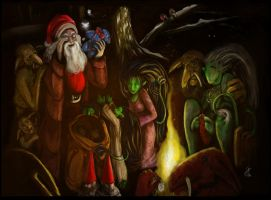 Christmas Card 2008 by Griatch-art