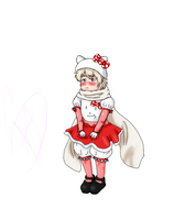 chibi russia in a hello kitty costume by alice39721