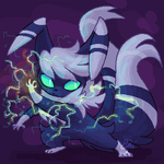 Meowstic used Thunderwave by ClefdeSoll