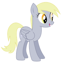 Happy Derpy Vector by Kooner-cz