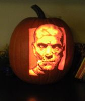 Karloff's 'The Mummy' by AmazingPumpkins