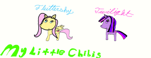 my little chibis by kitkat567