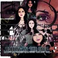 Elizabeth Gillies Blend-Gif by rahrahmonster