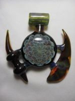 Gong Pendant 2 by rustyglass311