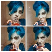 Hades make-up by petisa