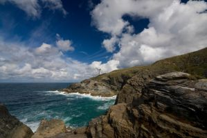 Trevose Head Lighthouse Cornwall by hairycheesecake