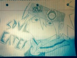 Soul Eater Drawing by penny222000