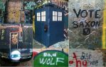 Doctor Who Art Alley Compilation by AshleyWass