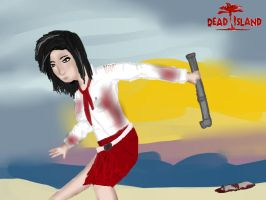 Dead Island Xion drawing by chibicosplayer