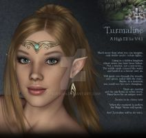 Turmaline, High Elf by fkdesign