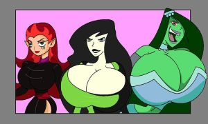 Team Shego by WorldofSolgamia