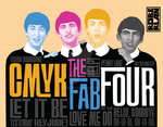 CMYK The Fab Four by roberlan