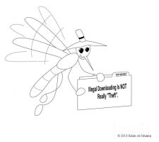 Conspiracy Fly #8--Illegal Downloading Not Theft by IAmTheUnison