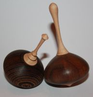 Christmas spinning tops by U140