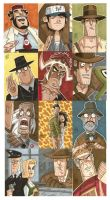 Indy Personal Sketch Cards by OtisFrampton