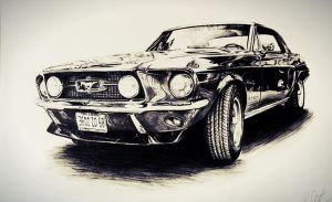 Oldtimer - Mustang by Schoerie