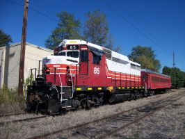 Cincinnati Railway GP30 by LDLAWRENCE