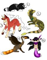 $$ Adoptables by ForeverFrosty