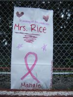 Mrs. Rice's Luminary Bag by Seattle-Storm