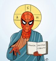 Spider-jesus by Lord-Makro