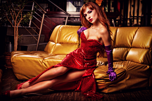 Jessica Rabbit Cosplay by SchuSchu068