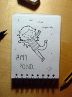 Mad, impossible Amy Pond by LetsSaveTheUniverse