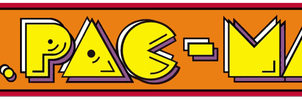 Ms. Pac-Man logo by RingoStarr39