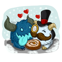 Some snowdown poro love by FabiLuv
