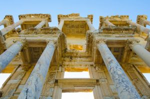 Celsus Library, Ephesus, Turkey by bluejay88