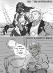 Varric Tethras Adventures by aimo