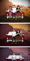 Gravity Falls: Through the Years by Charlemage